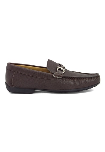 Tomaz brown Tomaz C255 Buckled Loafers (Coffee) TO717SH68GTNMY_1