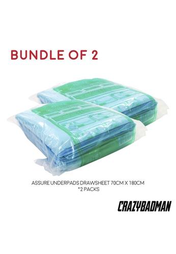 ASSURE [Bundle of 2] Assure Underpads Drawsheet 70cm x 180cm (5pcs/pkt) D0BBFESE5AE0CAGS_1