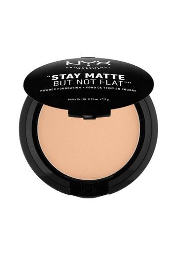 NYX Professional Makeup beige NYX Professional Makeup Stay Matte Powder Foundation- MEDIUM BEIGE A3E14BE93641C2GS_1