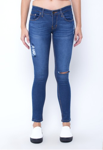 W jeans official blue Holly Ripped Jeans WI851AA11LVWID_1