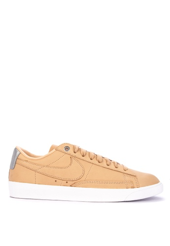 Nike white Women's Nike Blazer Low SE Premium Shoes 81AD8SH242466AGS_1