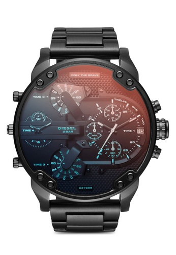 Diesel black The Daddies Series Analog Watch DZ7395 4F710AC9B113D0GS_1
