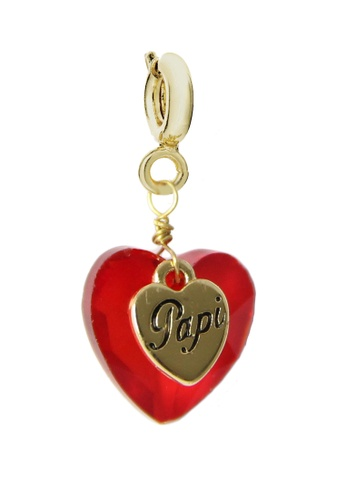 My Flash Trash red and gold PAPI CHARM EE8EBAC42EE627GS_1