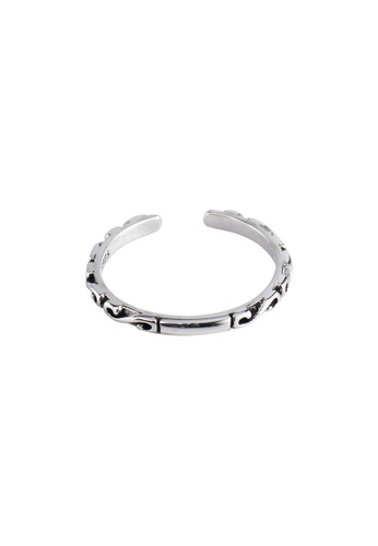 A-Excellence silver Premium S925 Sliver Letter / Number / Text Ring 16D1DACC84179DGS_1