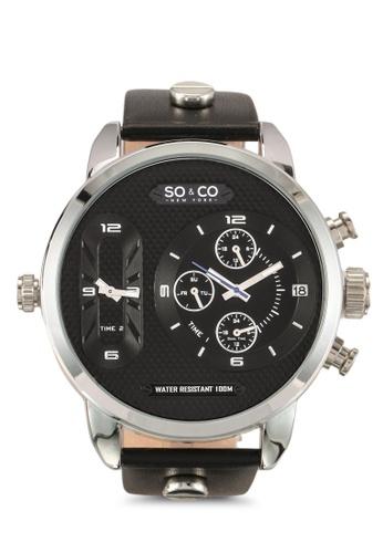 SO&CO black SoHo Watch 5230 22558ACA7E87DFGS_1