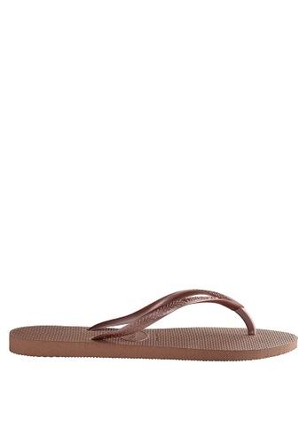 a567c45681c7 Shop Havaianas Slim Flip Flops Online on ZALORA Philippines