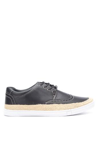 Preview black Men's Smart Casual Shoes PR211SH27GOMPH_1