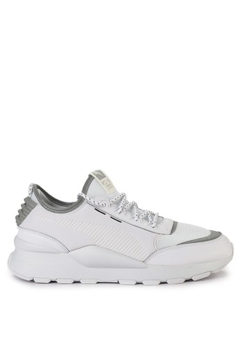 PUMA white Rs-0 Optic Pop Shoes 0CBE9SH4C9F7B8GS_1