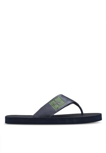 Calvin Klein blue Ocean Sandals 4718CSH2A87167GS_1