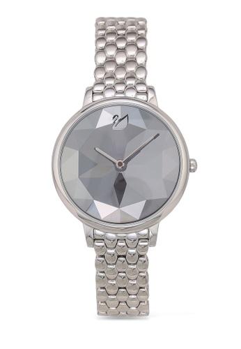 Swarovski silver Crystal Lake Metal Bracelet Watch 912B0ACBE32045GS_1