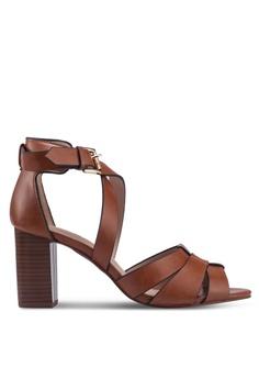 2a1e0ecf7e Dorothy Perkins brown Tan Stax 2 Part Heels 24DDDSHF9C212FGS_1