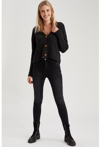 DeFacto black High Waist Skinny Jeans 3F364AA594CBDDGS_1