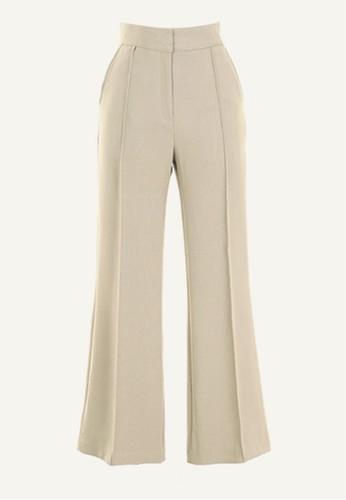 褲中線設計西褲, 服飾, esprit香港門市直腳褲