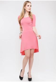 Ming High-Low Hem Dress