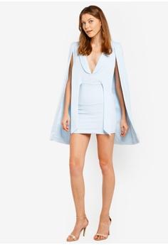 0ffc751324 70% OFF Lavish Alice Gathered Tie Waist Cape Dress RM 482.00 NOW RM 144.90  Sizes 14