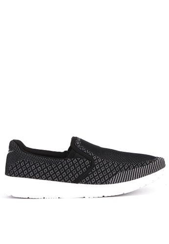 World Balance black Colbie Mens Slip On Sneakers EE5B4SH8C1B4D0GS_1