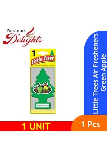Prestigio Delights green Little Trees Air Fresheners Green Apple 935F0ES9E424D5GS_1