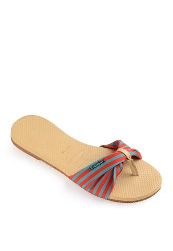 Havaianas beige You Saint Tropez Flip Flops 19B0CSH3A3ED98GS_1