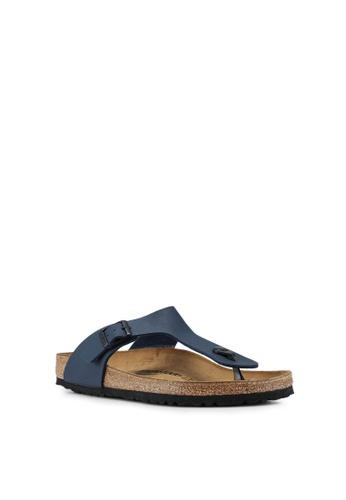 Birkenstock blue Gizeh Sandals BI090SH58HNLMY_1