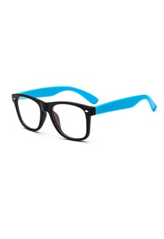 6dd5ffd2c8e1 Elitrend Classic Plastic Frame Glasses - Black   Blue S  12.90. Sizes One  Size