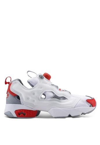 9133ebdd810 Reebok white Classic Instapump Fury OG MU Shoes 01F29SH1E0796BGS_1