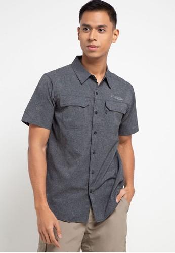 Columbia black Irico Men's Short Sleeve Shirt C1ACAAAE3B8826GS_1
