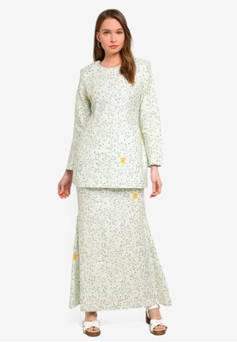 Butik Sireh Pinang green Baju Kurung Moden Alisa 21AA1AAC607A27GS_1