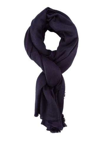 素色流蘇圍巾, 飾品配件zalora 包包 ptt, 披肩