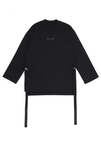 MUSIUM DIV black Embellished T-shirt E5AE3AA5AE3D69GS_1