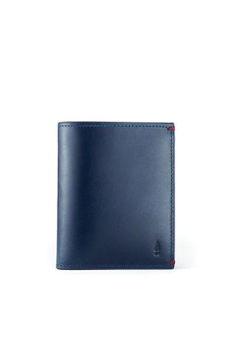 Gnome and Bow blue Griffin Card Wallet B19FEAC94CAF27GS_1