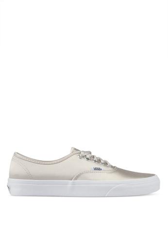 VANS silver Old Skool Satin Lux Sneakers VA142SH0SWO5MY_1