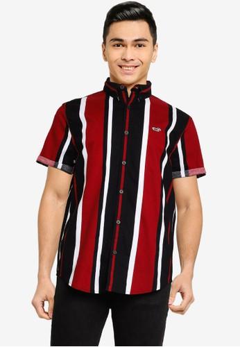 Hollister red Slim Shirt AF57CAA0C273C4GS_1