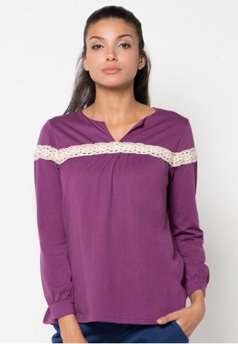 Gaff purple Nadira Blouse GA640AA38CIJID_1