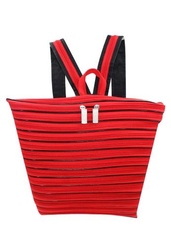 Urban Hikers red Zipper Backpack UR461AC42XOBPH_1