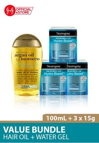 OGX OGX Renewing Argan Oil Morocco Penetrating Oil 100ml + Neutrogena Hydro Boost Water Gel 15g x 3 077CDBE648DCB6GS_1