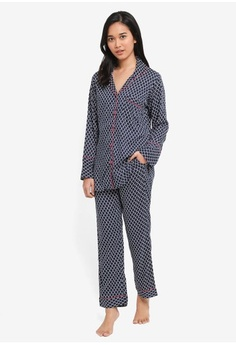 Psst... we have already received your request. Perch. Corey Long Pants  Pajama Set 456dee92f