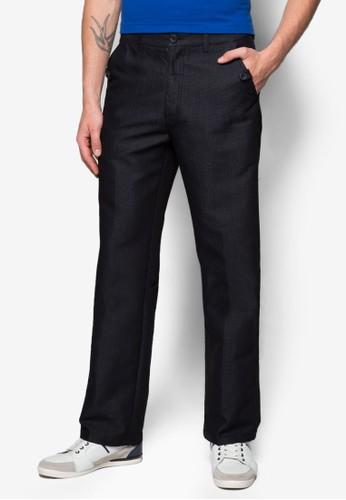 鈕扣直zalora 衣服尺寸筒棉褲, 服飾, 長褲