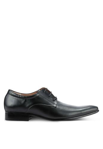 Frank Williams black Leather Dress Shoes FR169SH0RE6DMY_1