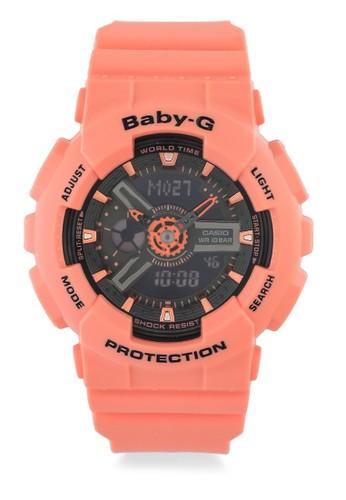 Baby-G orange Casio BABY-G Jam Tangan Wanita - Orange - Resin - BA-111-4A2DR BAABCAC13EF6FAGS_1