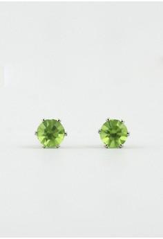 Lucky Birthstone Earrings- August