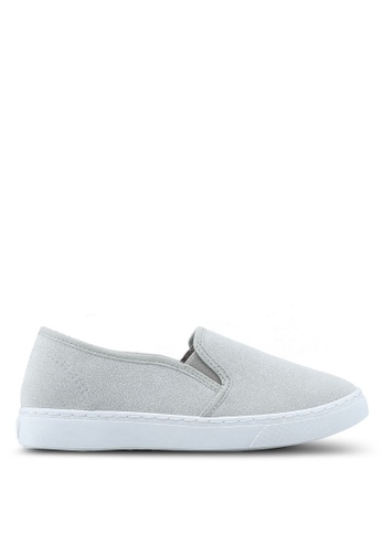 OVS grey Slipsue In Suede Shoes B85B5SH7F3FBBEGS_1