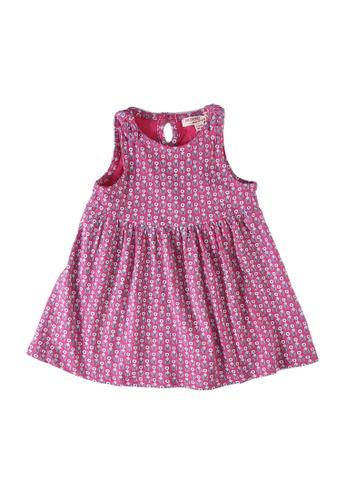 Du Pareil Au Même (DPAM) pink Printed Beach Dress 6B5ACKA202E300GS_1