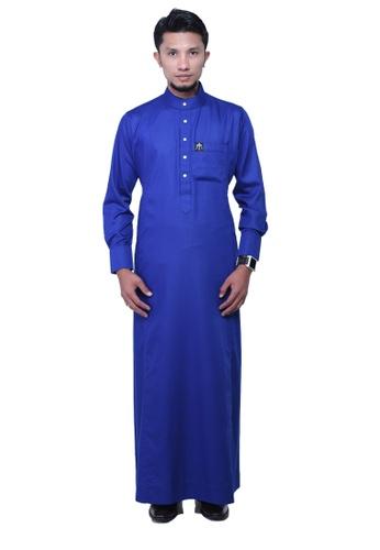 Maribeli Butik blue MB Man Zulqarnain Royal Blue MA905AA59BUAMY_1