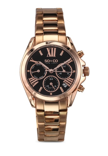 SO&CO gold Madison Watch 5064 SO540AC0SHMVMY_1