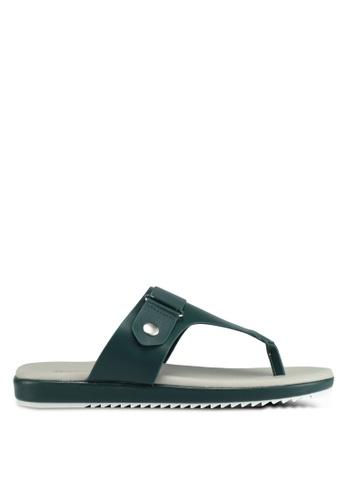 Bata green Bata Women Sandals 0B8C6SH8E40B06GS_1