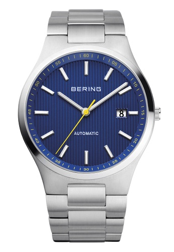 Bering silver Automatic 13641-707 Blue 41 mm Men's Watch 91242ACC444961GS_1