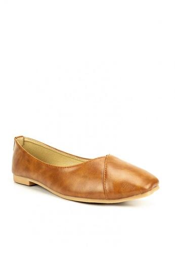 Mario D' boro Runway brown Bethany flat Shoes F9E19SH4915969GS_1