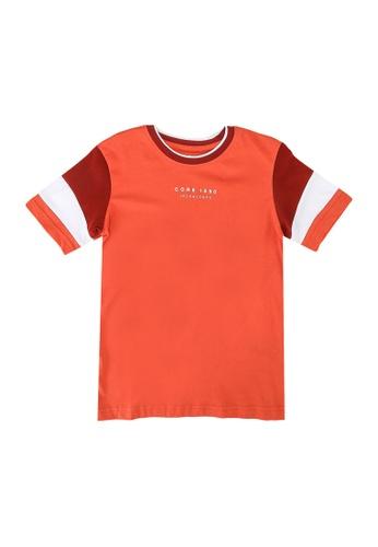 Jack & Jones orange Donda Tee B4428KA5ED765BGS_1