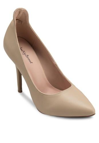 高鞋背尖頭高跟esprit門市鞋, 女鞋, 鞋