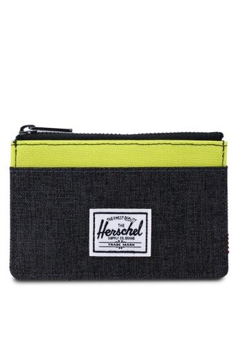 Herschel black Oscar RFID Wallet 99FB7ACDE66F54GS_1